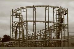 Pleasureland en el invierno Imagen de archivo libre de regalías