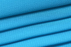Pleated Fabric. Royalty Free Stock Image