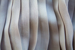 Pleated skirt. Fabric texture close up Royalty Free Stock Image