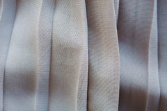 Pleated skirt. Fabric texture close up Stock Photography