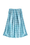 Pleated skirt isolated Royalty Free Stock Images