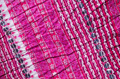 Pleated textile Stock Images