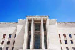 Plebański budynek w Sapienza uniwersytecie, Rzym Obraz Royalty Free