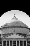 plebliscito πλατειών της Νάπολης Στοκ φωτογραφίες με δικαίωμα ελεύθερης χρήσης