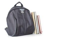 Plecak i książki Obraz Stock
