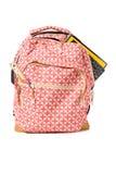 plecak target642_0_ szkolne dostawy Fotografia Stock