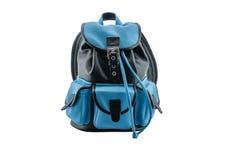 Plecak w skórze Zdjęcie Royalty Free