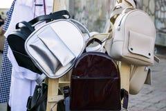 Plecaki dla dziewczyn zdjęcia royalty free