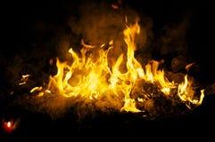 Plechtige brand Royalty-vrije Stock Afbeeldingen
