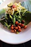 Plecing kangkung, a traditional salad dish from Lombok or Bali, stock photos