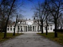 Plecnikove Zale, κεντρικό νεκροταφείο στο Λουμπλιάνα, Σλοβενία Στοκ εικόνες με δικαίωμα ελεύθερης χρήσης