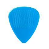 Plectre bleu de guitare Photographie stock libre de droits