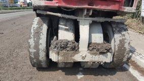 Plecy Steamroller Zdjęcia Royalty Free