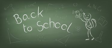 Plecy szkoły wektoru ilustracja Zdjęcie Stock