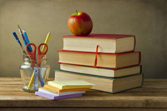 Plecy szkolny pojęcie Fotografia Stock