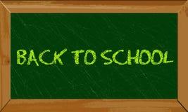 Plecy szkolny sztandar Zdjęcia Stock