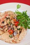Pled fish pancake Royalty Free Stock Photography