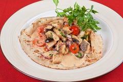 Pled fish pancake Stock Photography