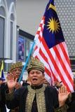 Pledge malaio dos veteranos Foto de Stock Royalty Free
