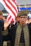 Pledge malaio dos veteranos Foto de Stock
