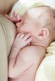Pleeg baby Stock Foto