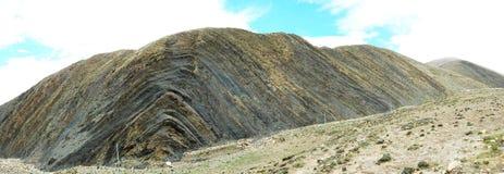 Plegable la montaña Fotos de archivo libres de regalías