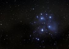 pleiades royaltyfri illustrationer