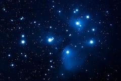 Pleiades Royaltyfri Bild