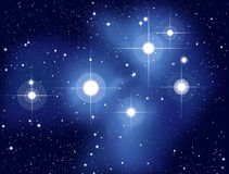 Pleiades Royalty Free Stock Photo