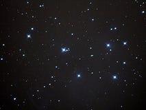 PLeiades (M45) image stock
