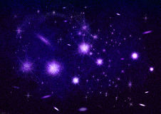 Pleiades, seven sisters royalty free illustration
