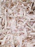Plein cadre de papier déchiqueté images libres de droits
