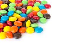 Plein chocolat de couleur Photographie stock