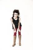 Plein corps de jeune femme Photographie stock libre de droits