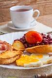 Plein déjeuner anglais photographie stock