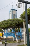 Plein DE armas in Cerro Azul, Ca ete, Lima royalty-vrije stock foto's