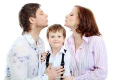 Plein famille Images libres de droits