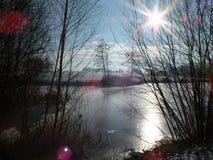 Plein hiver Markelo Photos libres de droits