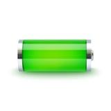 Plein indicateur de batterie Images stock