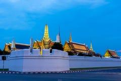 Plein nom officiel Wat Phra Si Rattana Satsadaram de Wat Phra Kaew Photos stock