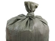 Plein sac de sac Photos libres de droits