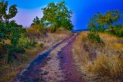Plein scape de terre de beauté avec la nature Photos libres de droits