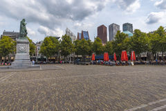 The Plein square, center of The Hague Stock Photos