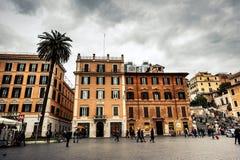 Plein van Spanje in Rome Stock Foto's