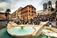 Plein van Spanje in Rome Royalty-vrije Stock Foto