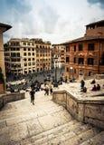 Plein van Spanje in Rome Stock Fotografie