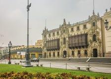 Pleinburgemeester van Lima in Peru Royalty-vrije Stock Fotografie
