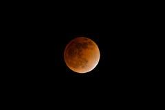 Pleine éclipse lunaire Photographie stock libre de droits