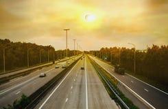 Pleine éclipse solaire Éclipse solaire Image stock