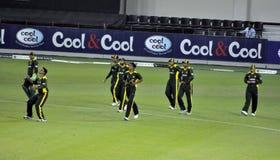 Pleine équipe du Pakistan Photo libre de droits